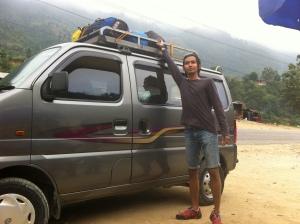 Karimun hasil Mak Erot yang berhasil membawa kami ber-enam ke Pokhara. But we had so much fun inside the car