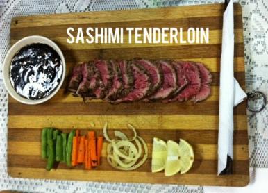 SASHIMI TENDERLOIN
