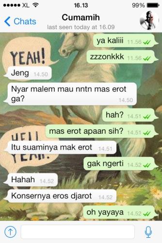 Whatsapp Cumamih