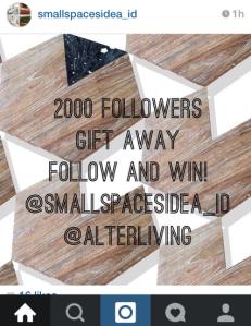 smallspacesidea gift away