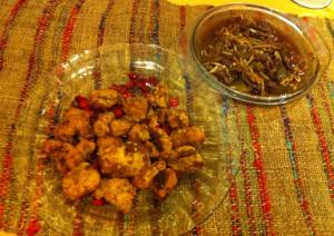 Curry Butter Chicken dan Sapi lada hitam