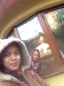 Bakekok .. Wefie with Totoro