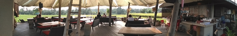 Pomegranate spot, the best place for self healing sambil ngopi sekaligus nungguin sawah..